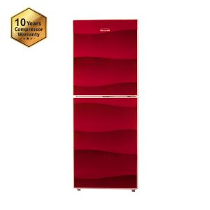 Refrigerator 333 Ltr Singer Dessert Red