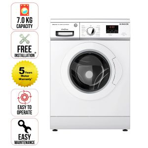 Washing Machine  Singer  7 KG Front Load (White)