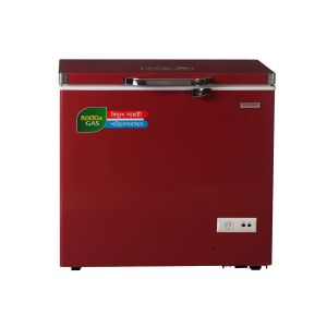 Chest Freezer 290 Ltr Singer-Red