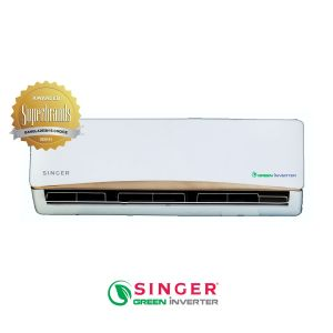 Air Conditioner 1.0 Ton Singer Green Inverter